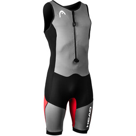 Head Swimrun MyBoost Lite Wetsuit Men black-silver-red